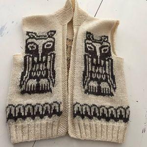 Vintage Guatemalan Vest Sweater